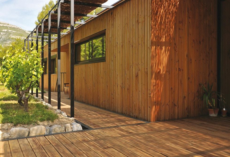 pergola - terrasse bois