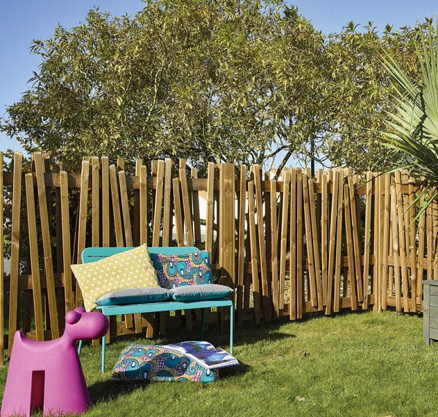 cloture-en-bois - brise vue - terrasse bois